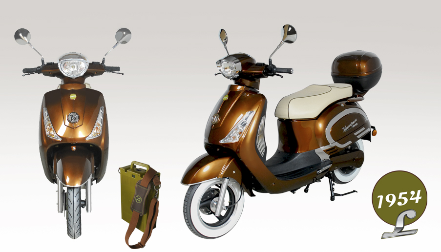 A retro-designed Kumpan 1954 scooter #8