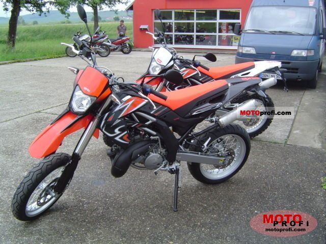 Aprilia RX 125 (reduced effect) #11