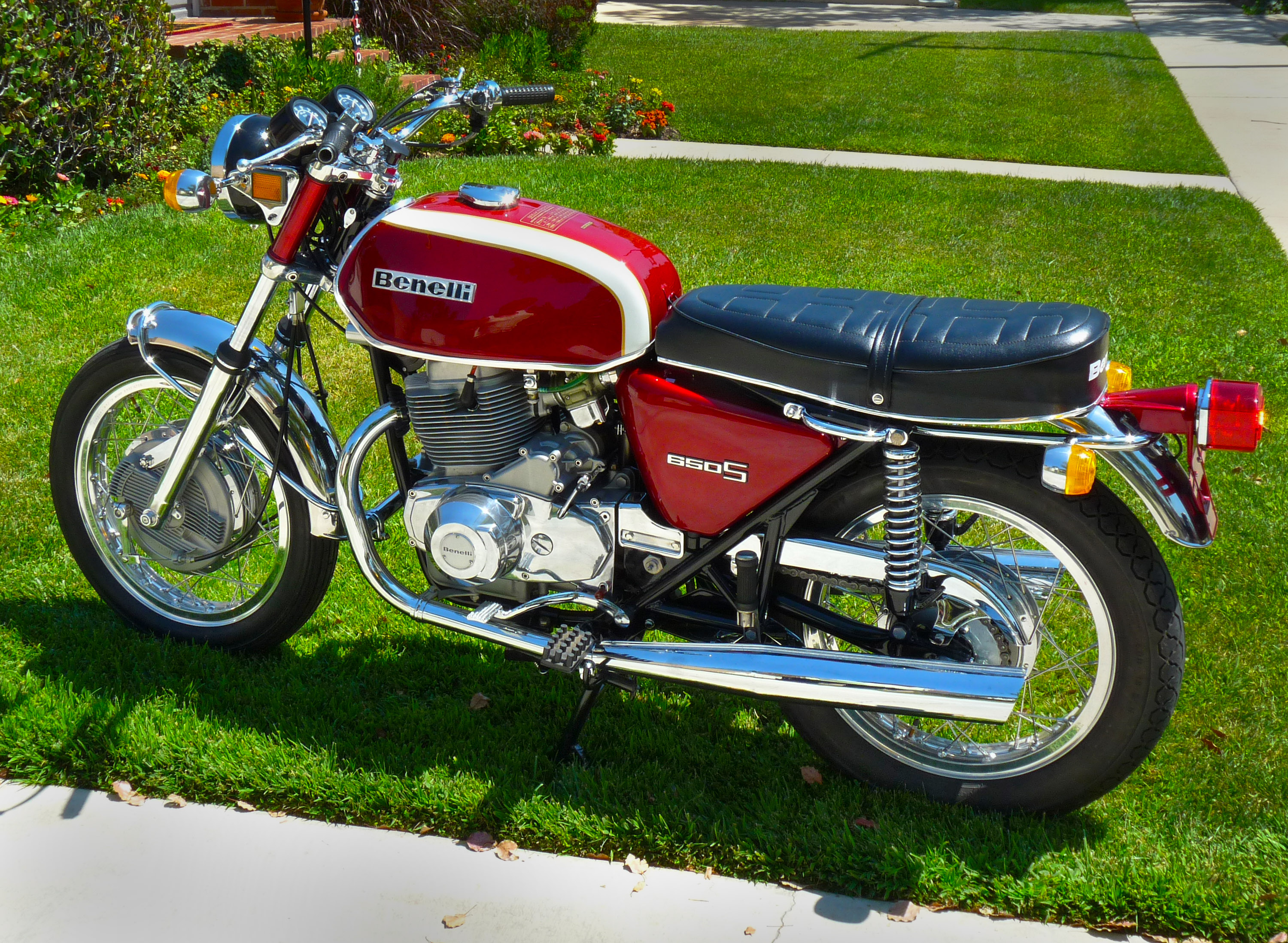 Benelli 350 RS 1980 #10
