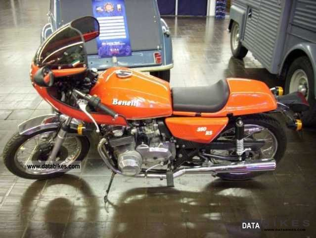 Benelli 350 RS #7