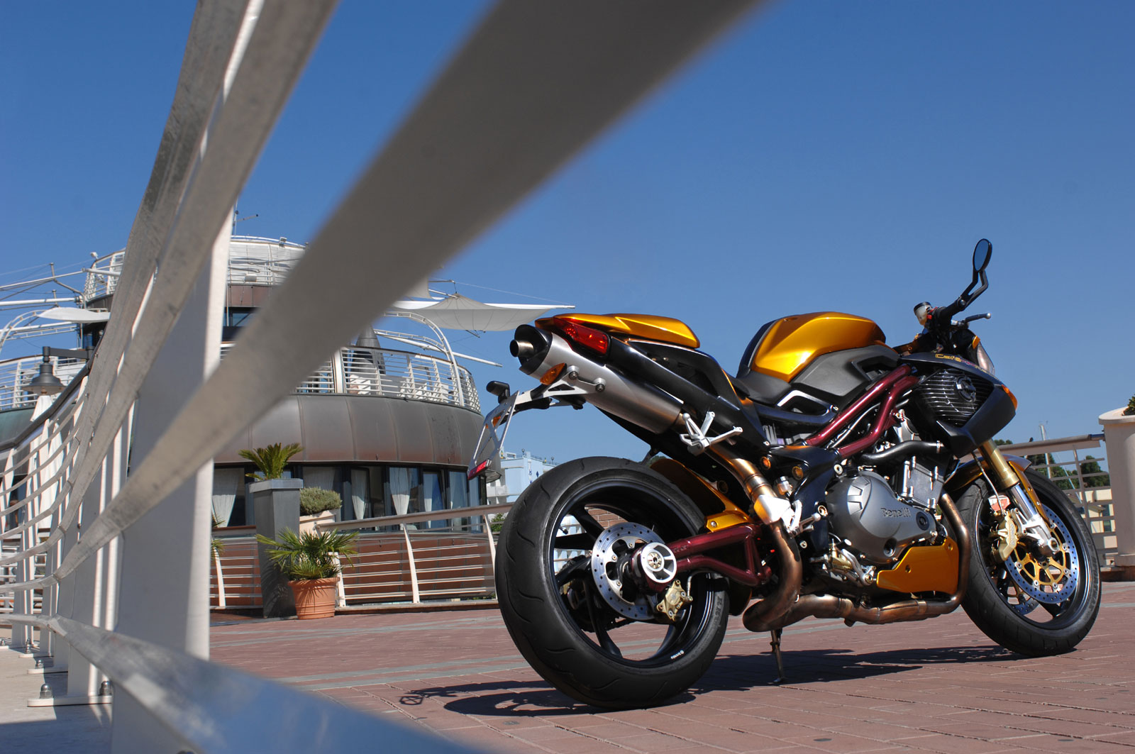Benelli TnT Cafe Racer #7