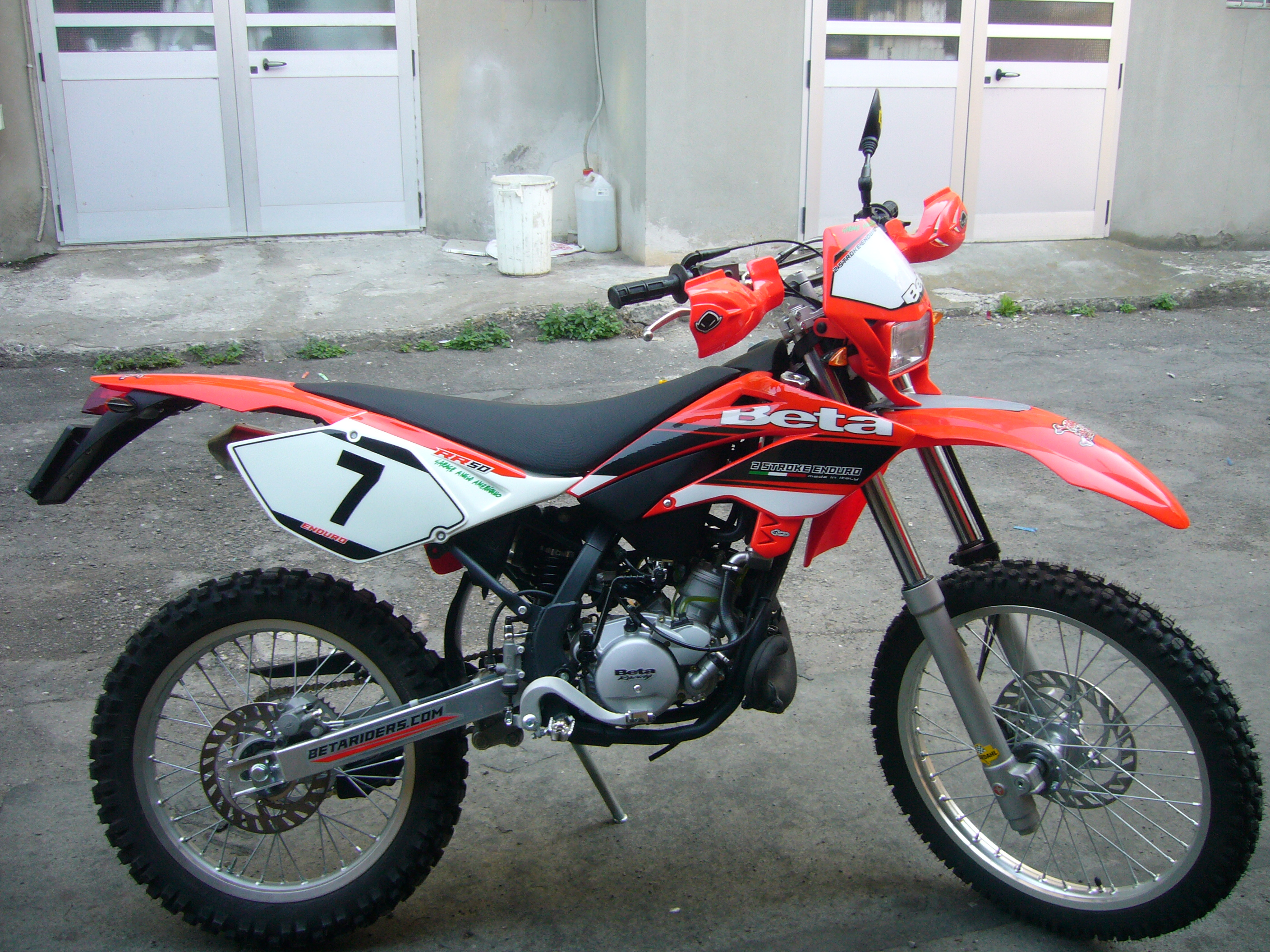 Beta RR Enduro 50 2008 #1