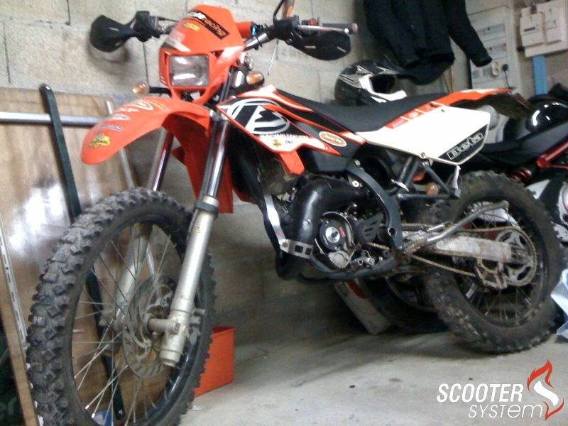 Beta RR Enduro 50 2008 #8