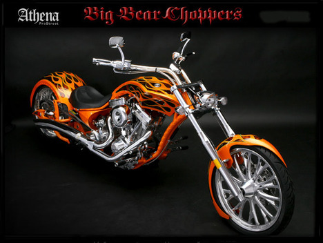 Big Bear Choppers Athena 100 Carb, The Real Headturner #7