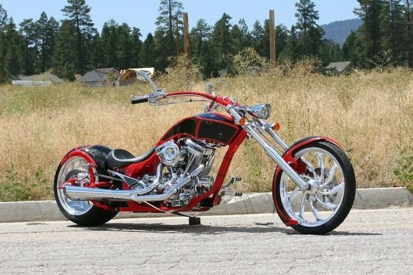 Big Bear Choppers Athena ProStreet 100 EFI #11