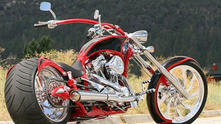 Big Bear Choppers Athena ProStreet 100 EFI #14