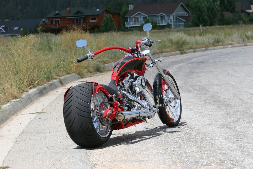 Big Bear Choppers Athena ProStreet 100 EFI #7