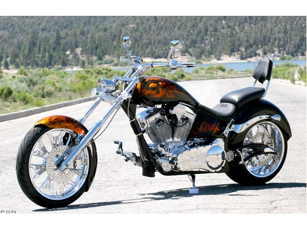Big Bear Choppers Devils Advocate 100 Smooth Carb #10