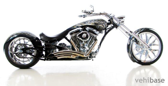 Big Bear Choppers Merc Rigid 100 Smooth Carb #10