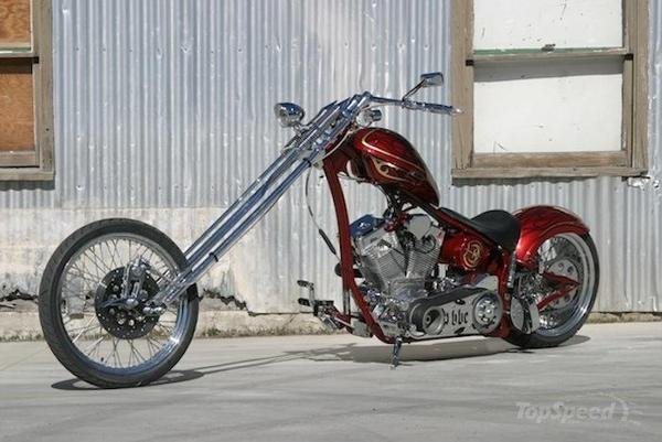 Big Bear Choppers Merc Softail 100 Smooth Carb #1