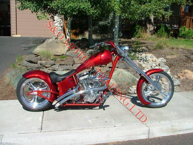 Big Bear Choppers Merc Softail 100 Smooth Carb #5