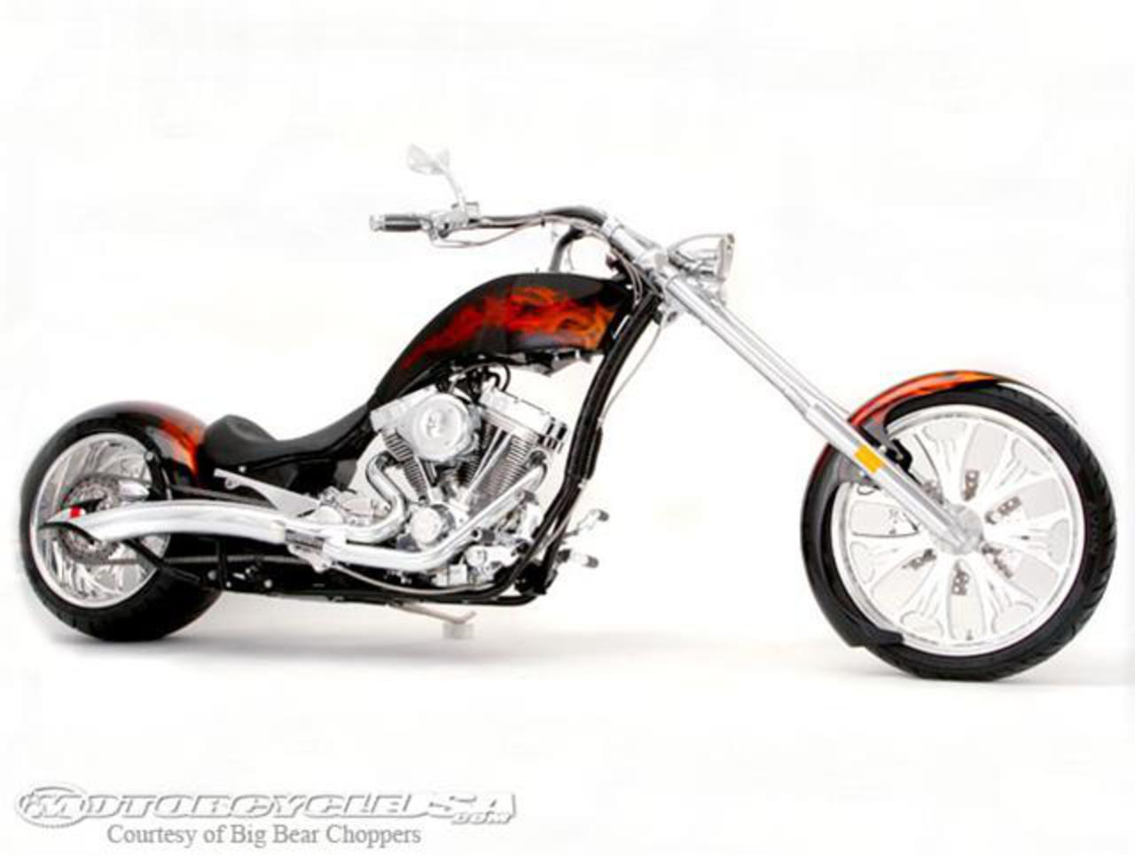 Big Bear Choppers Rage 100 Smooth EFI 2010 #1