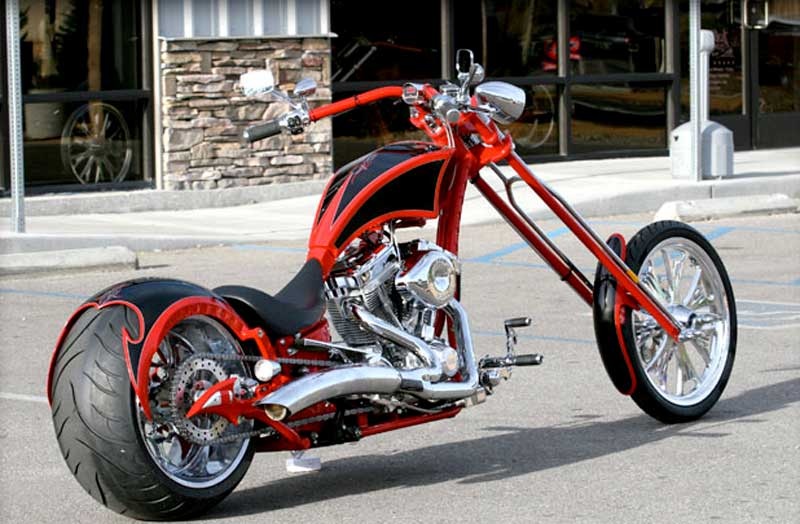 Big Bear Choppers Rage 100 Smooth EFI 2010 #5