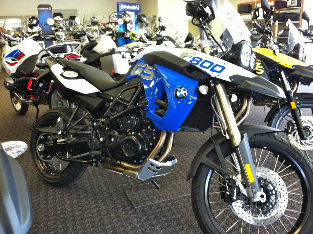 BMW F800GS Trophy 2012 #3