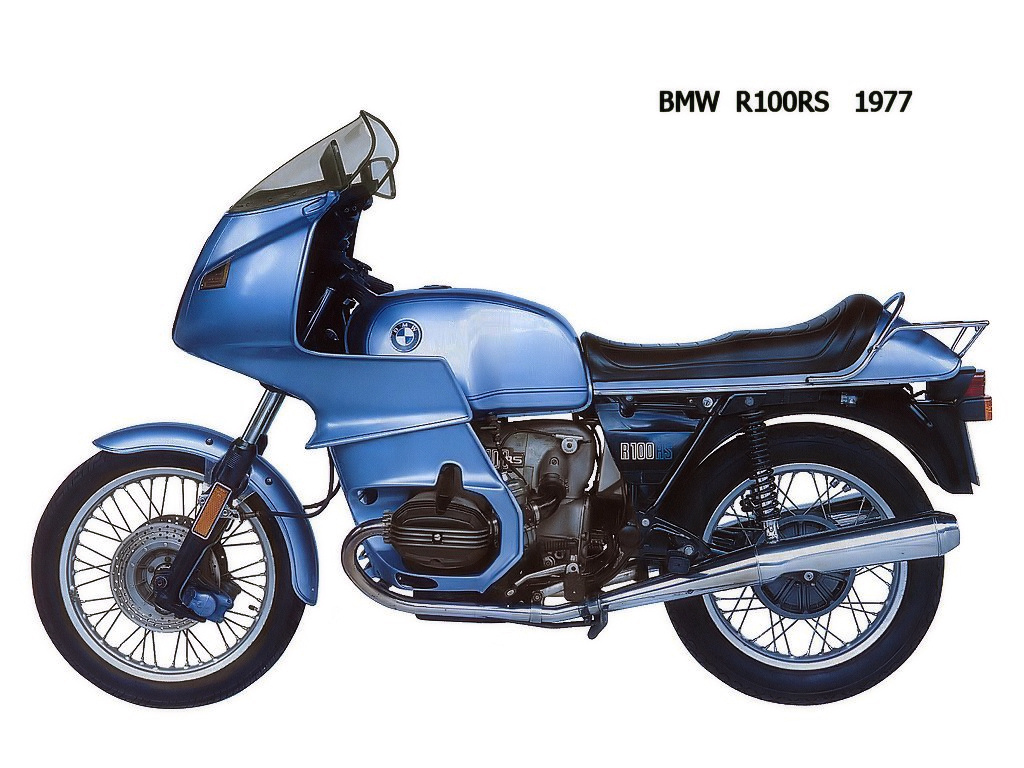 BMW R100RS 1980 #8