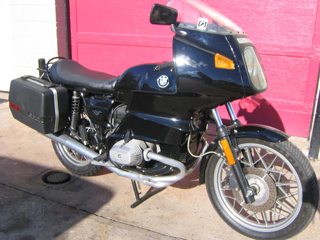 BMW R100RS 1981 #8
