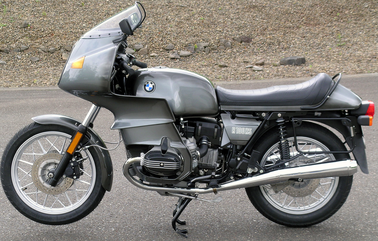 BMW R100RS 1981 #9
