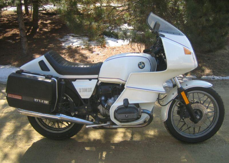 BMW R100RS 1983 #4