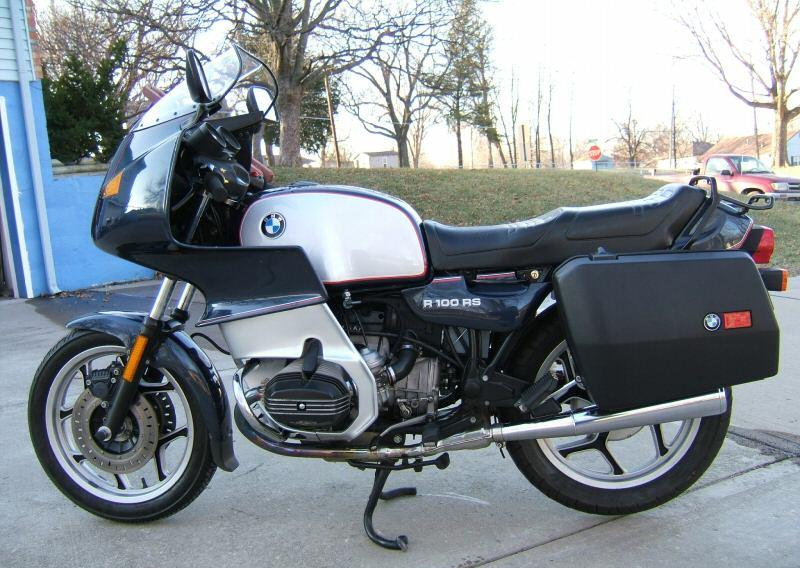 BMW R100RS 1989 #9