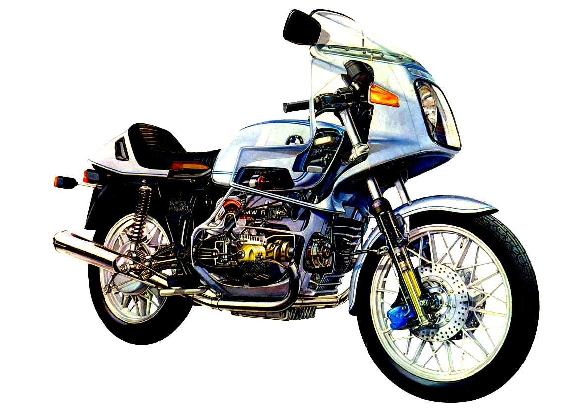 BMW R100RS #8