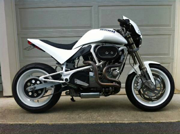 Buell White Lightning #9