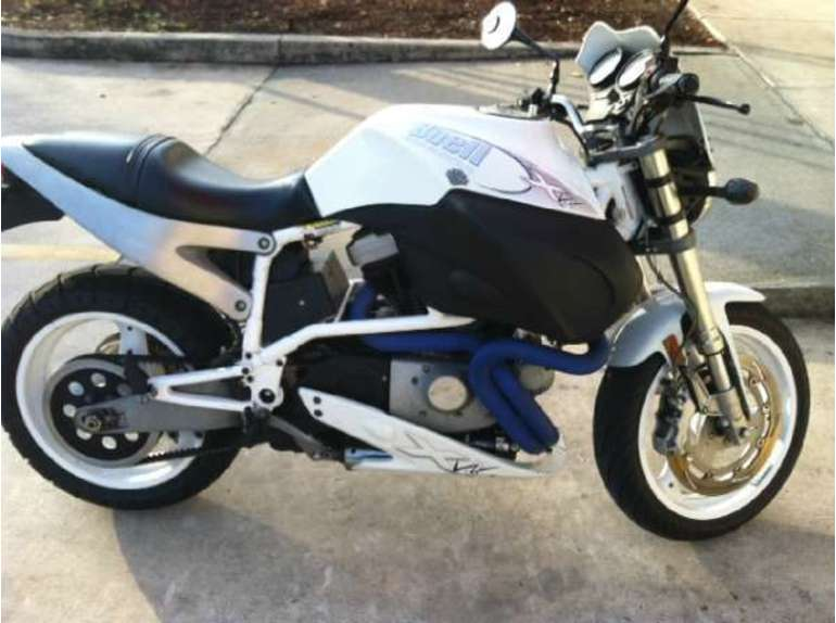 Buell X1W White Lightning 2002 #10