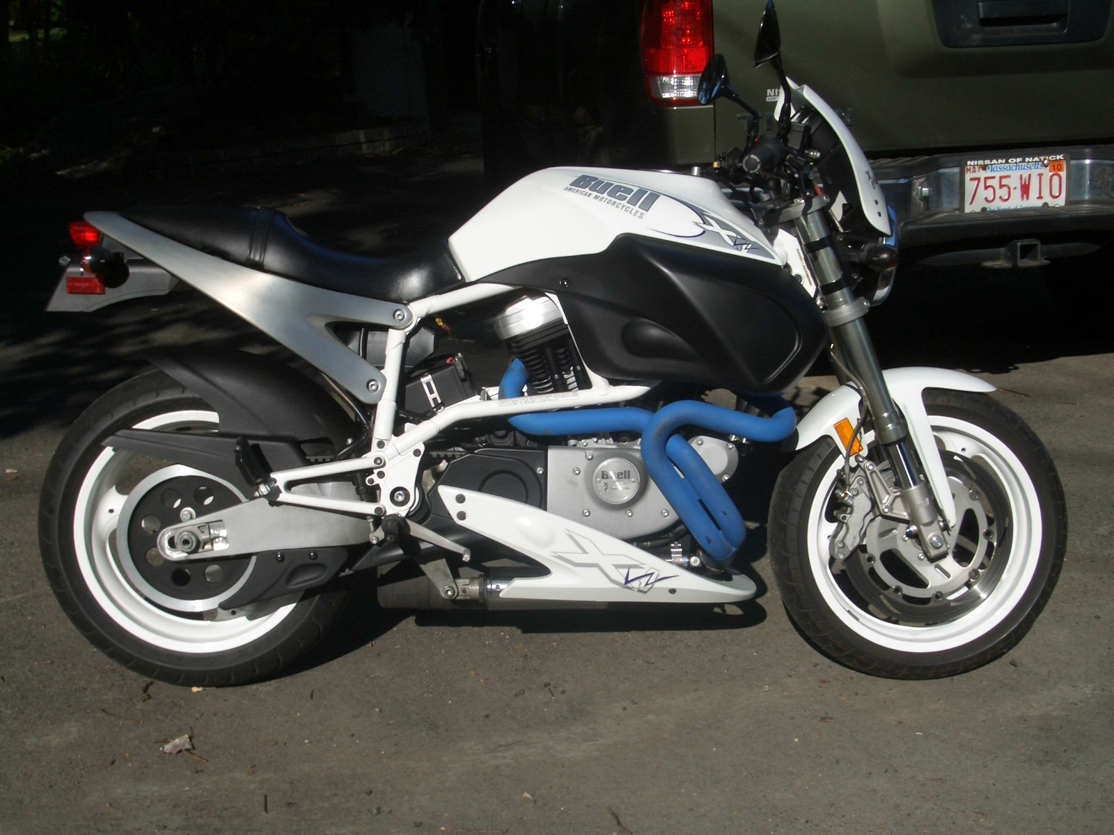 Buell X1W White Lightning 2002 #3