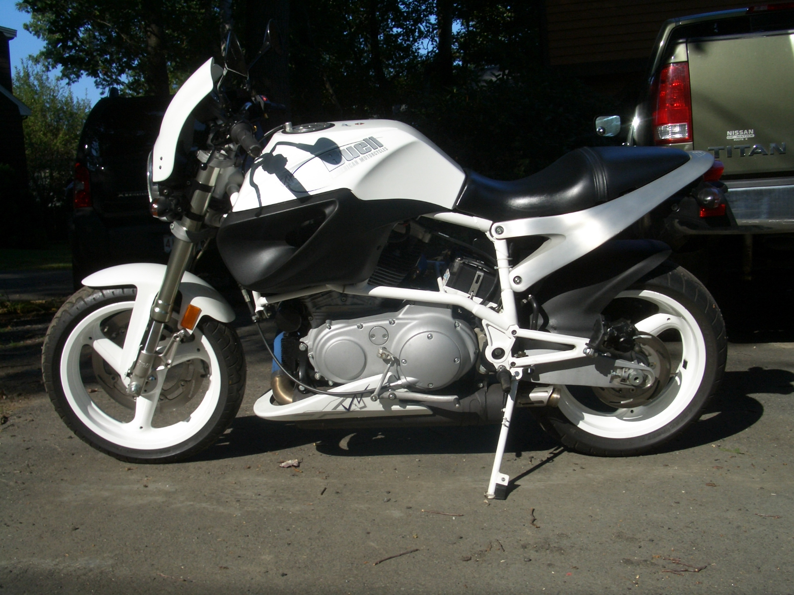 Buell X1W White Lightning 2002 #5