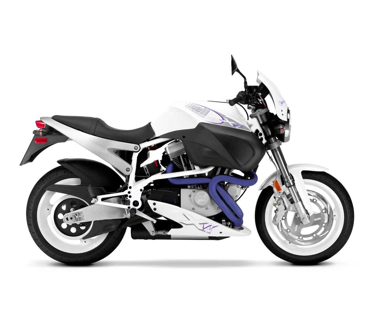 Buell X1W White Lightning 2002 #7