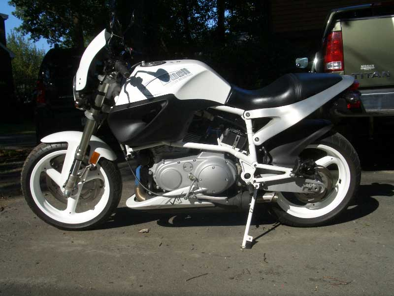 Buell X1W White Lightning #8