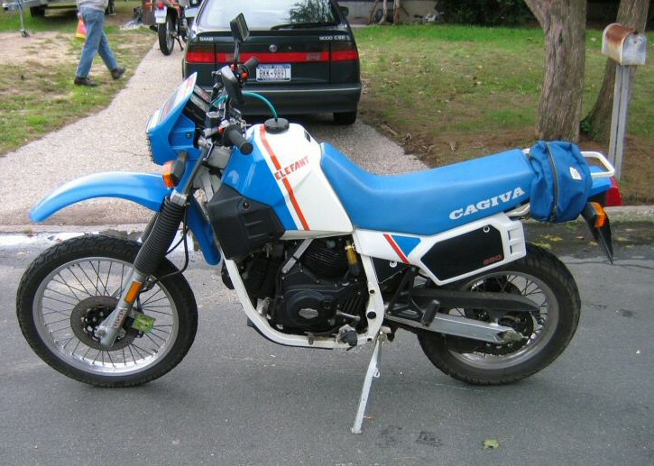 1986 Cagiva 650 Alazzurra (reduced effect) #3