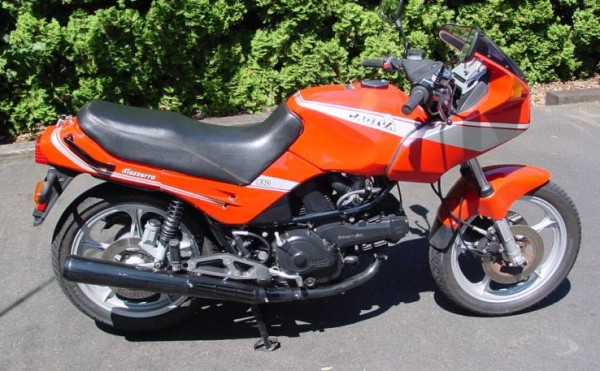 1986 Cagiva 650 Alazzurra (reduced effect) #5