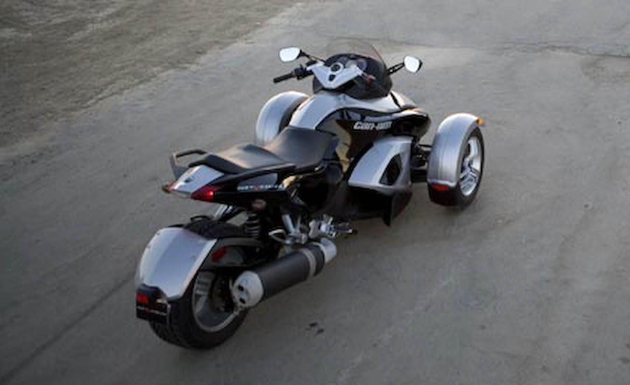 Can-Am Spyder Roadster 2008 #8