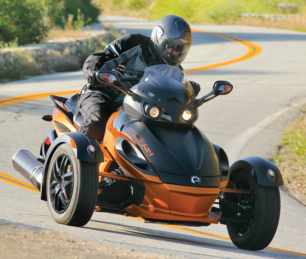 Can-Am Spyder Roadster RS 2011 #5