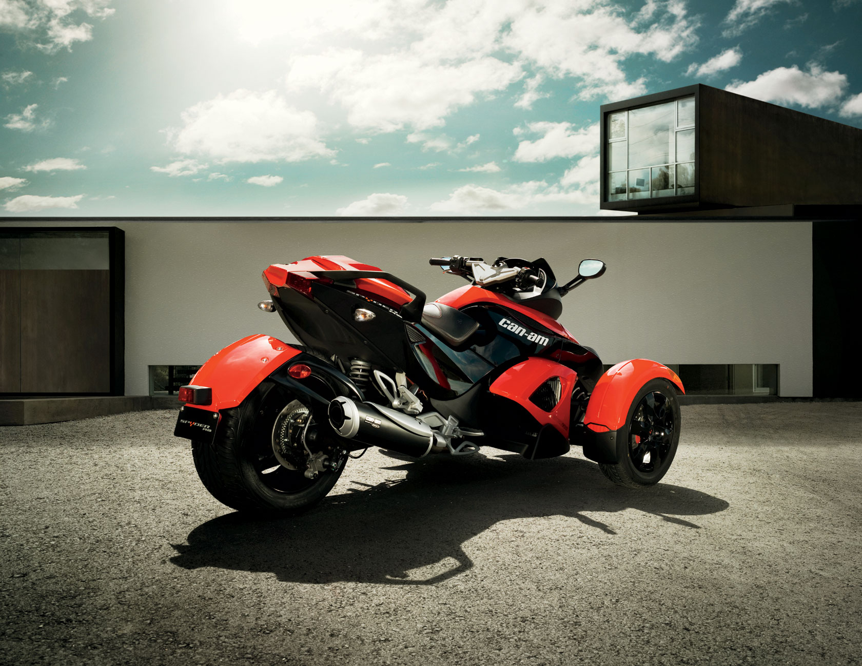 Can-Am Spyder Roadster RS #7