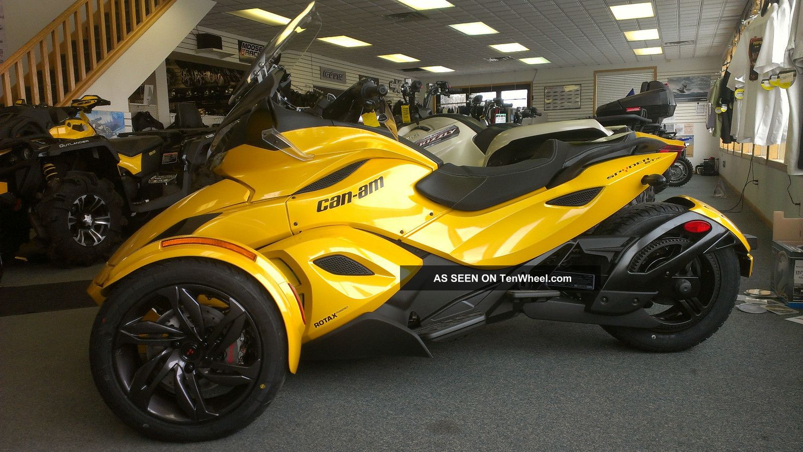 Can-Am Spyder Roadster SE5 #9