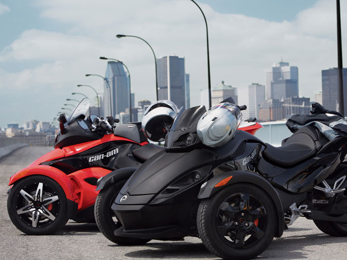 Can-Am Spyder Roadster SE5 2009 #3