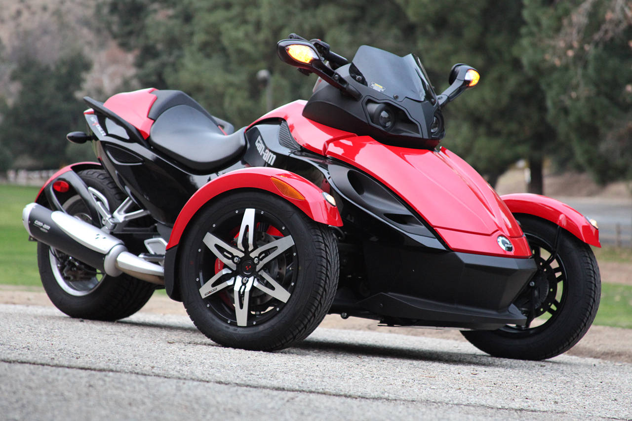 Can-Am Spyder Roadster SE5 2009 #5