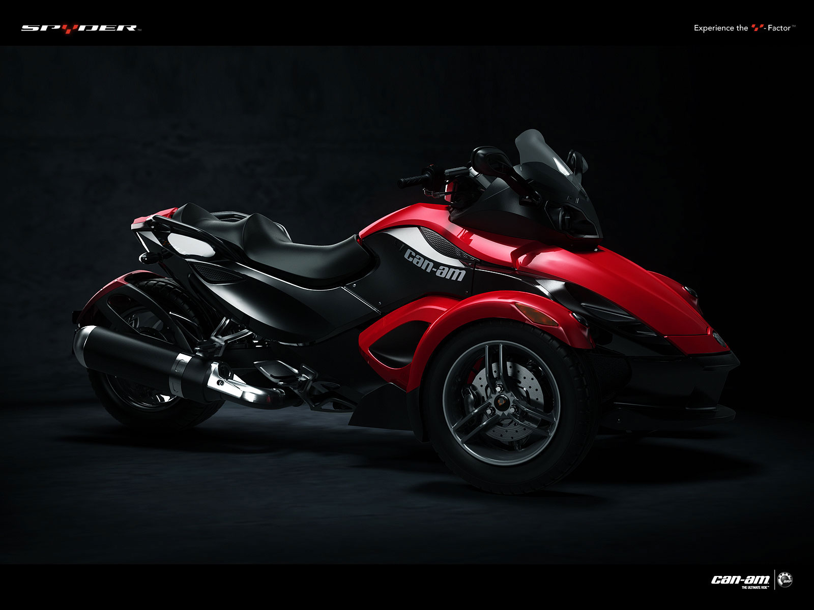 Can-Am Spyder Roadster SE5 2009 #8
