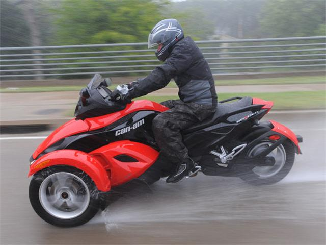 Can-Am Spyder Roadster SE5 2009 #9