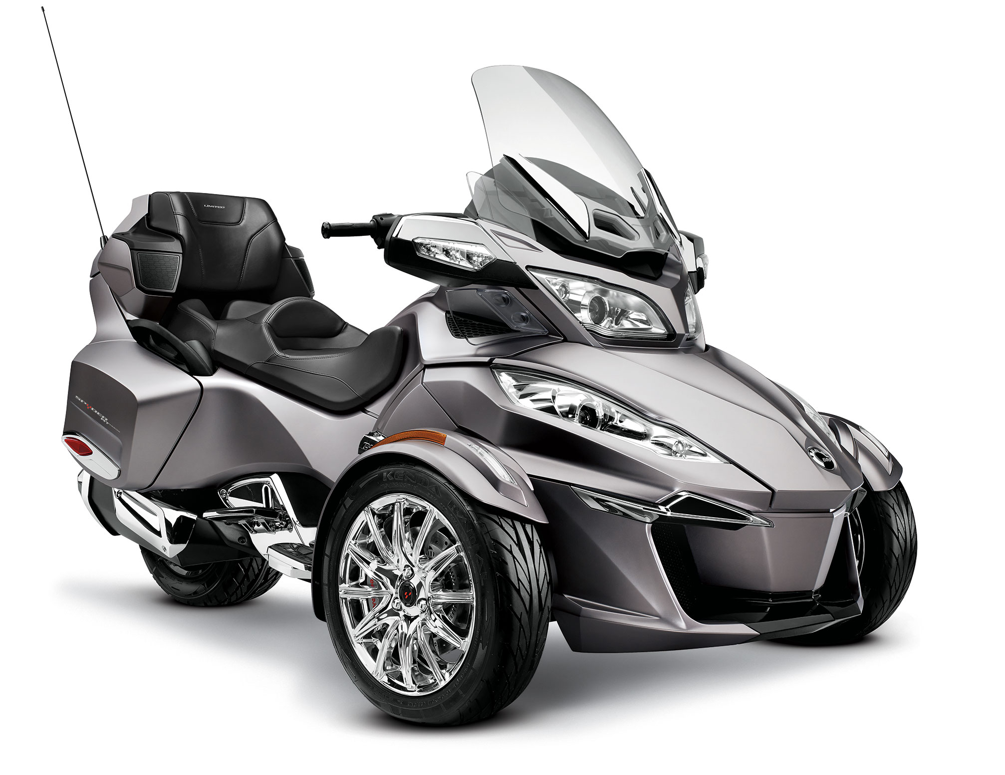 Can-Am Spyder RT Audio #10