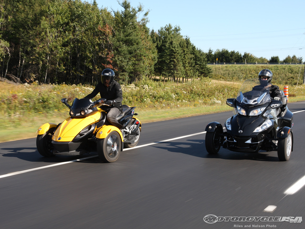Can-Am Spyder RT Audio 2010 #12