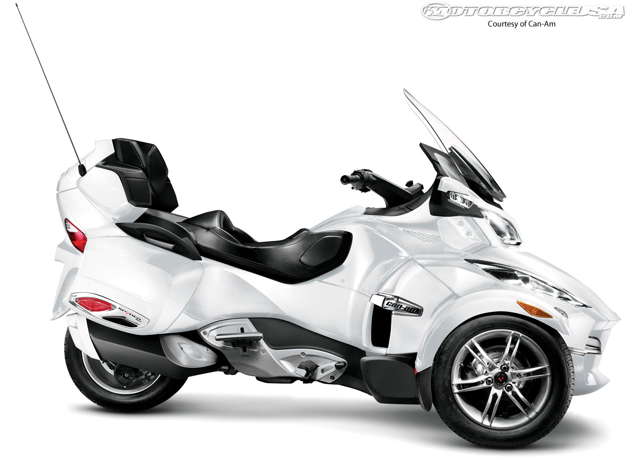 Can-Am Spyder RT Audio 2010 #5