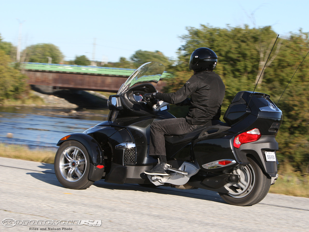 Can-Am Spyder RT Audio 2010 #6