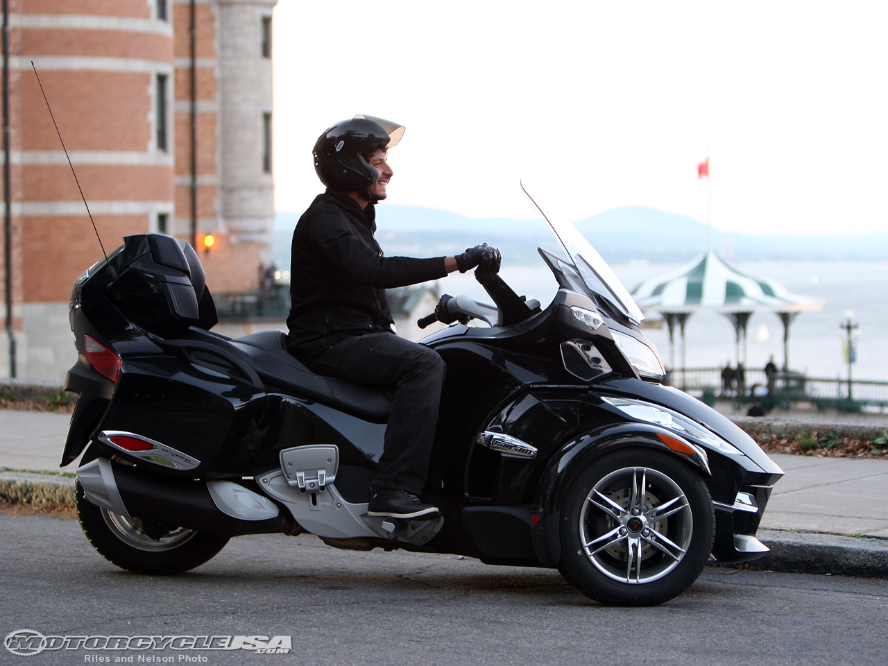 Can-Am Spyder RT Audio 2010 #7