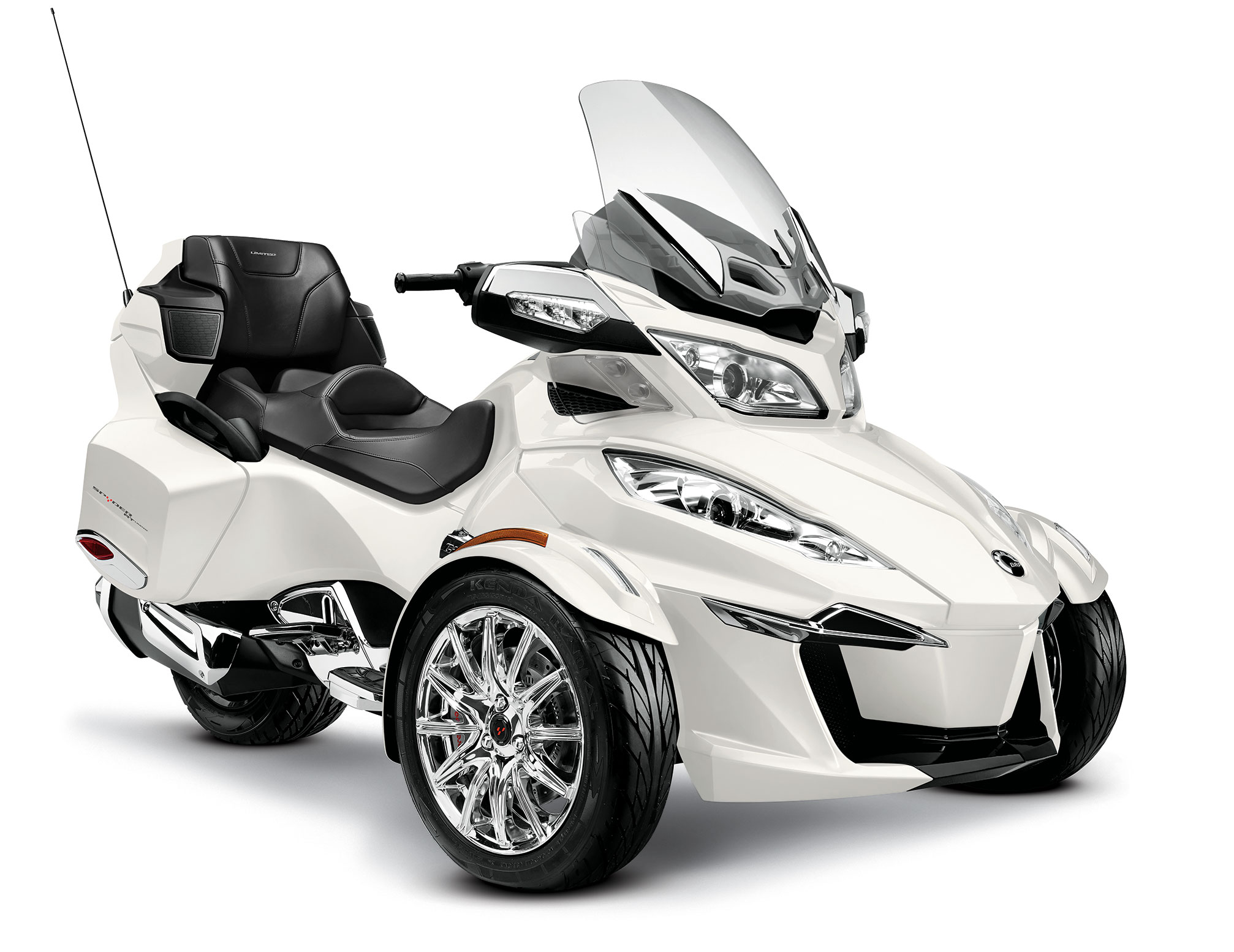 Can-Am Spyder RT Audio #3
