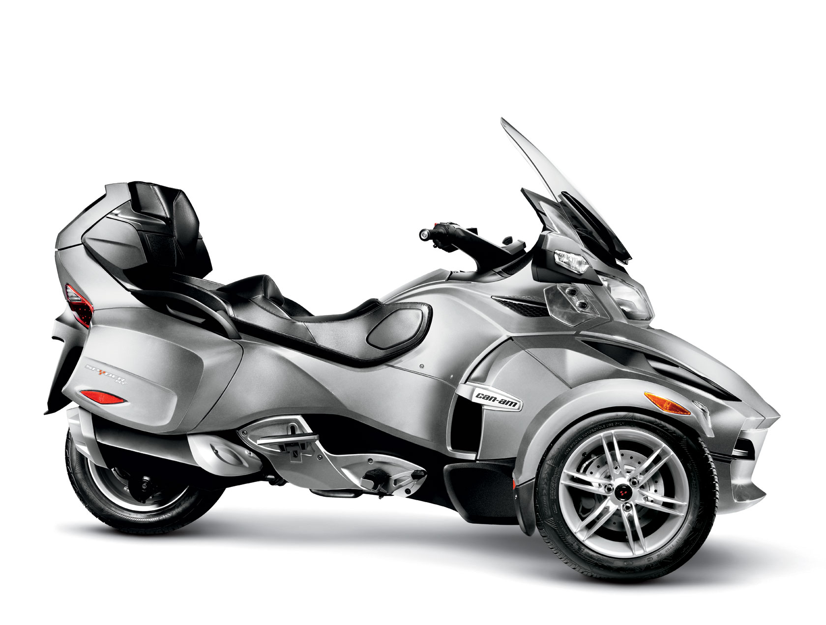 Can-Am Spyder RT Audio #4