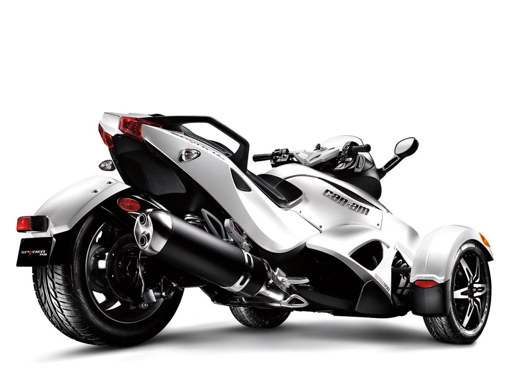 Can-Am Spyder RT Audio #5