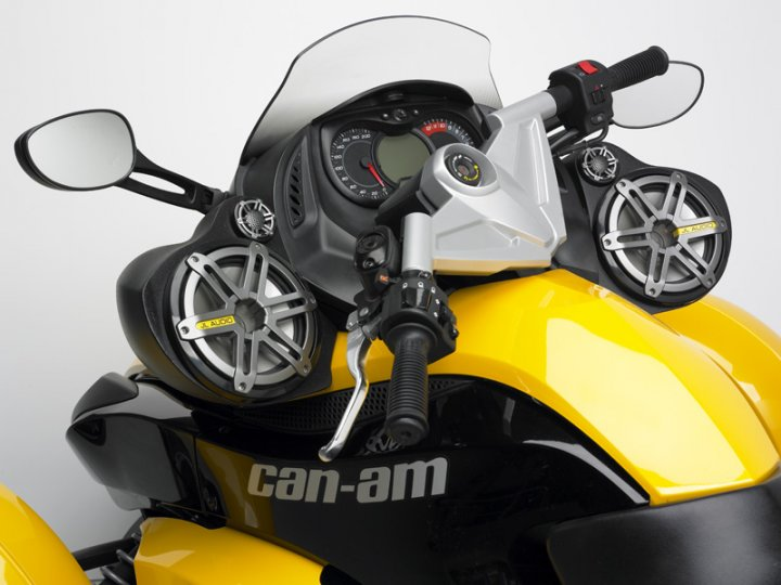 Can-Am Spyder RT Audio #8