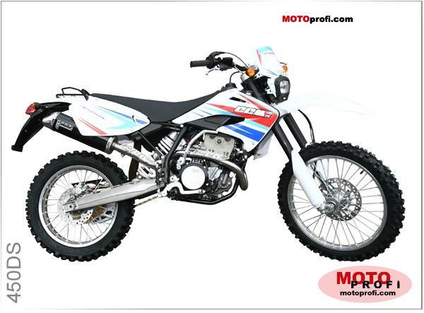CCM 450 DS Supermoto 2008 #2